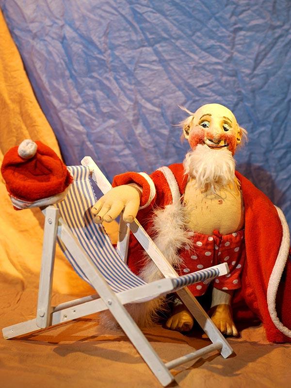 Ferien für den Weihnachtsmann